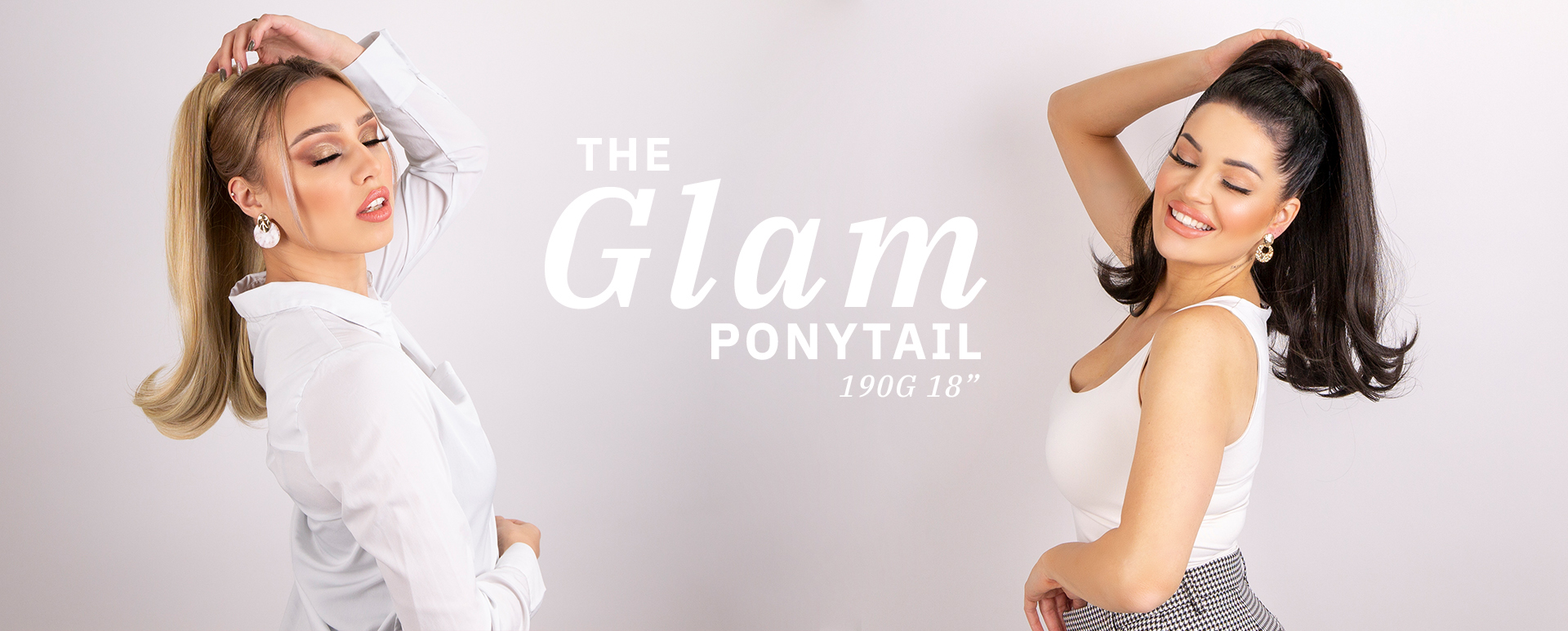 "190g 18"" Glam Ponytail Synthetic"